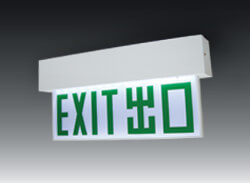 LED_exit_plate_surface_mounted_L4S100